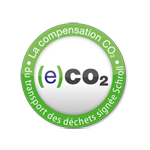 Logo label Co2